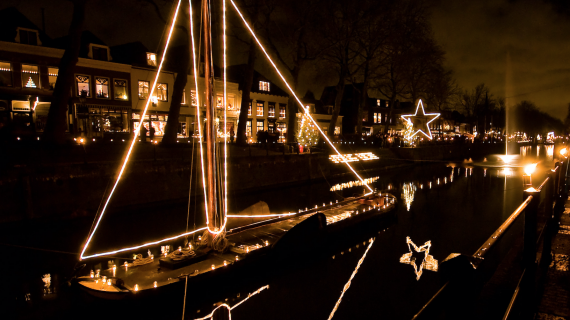 Kaarslicht in Vreeswijk